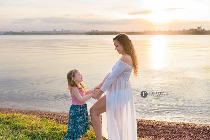 Ensaio de Gestante com família em Brasília