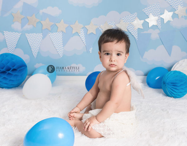 Ensaio de 7 meses para bebê em Brasília