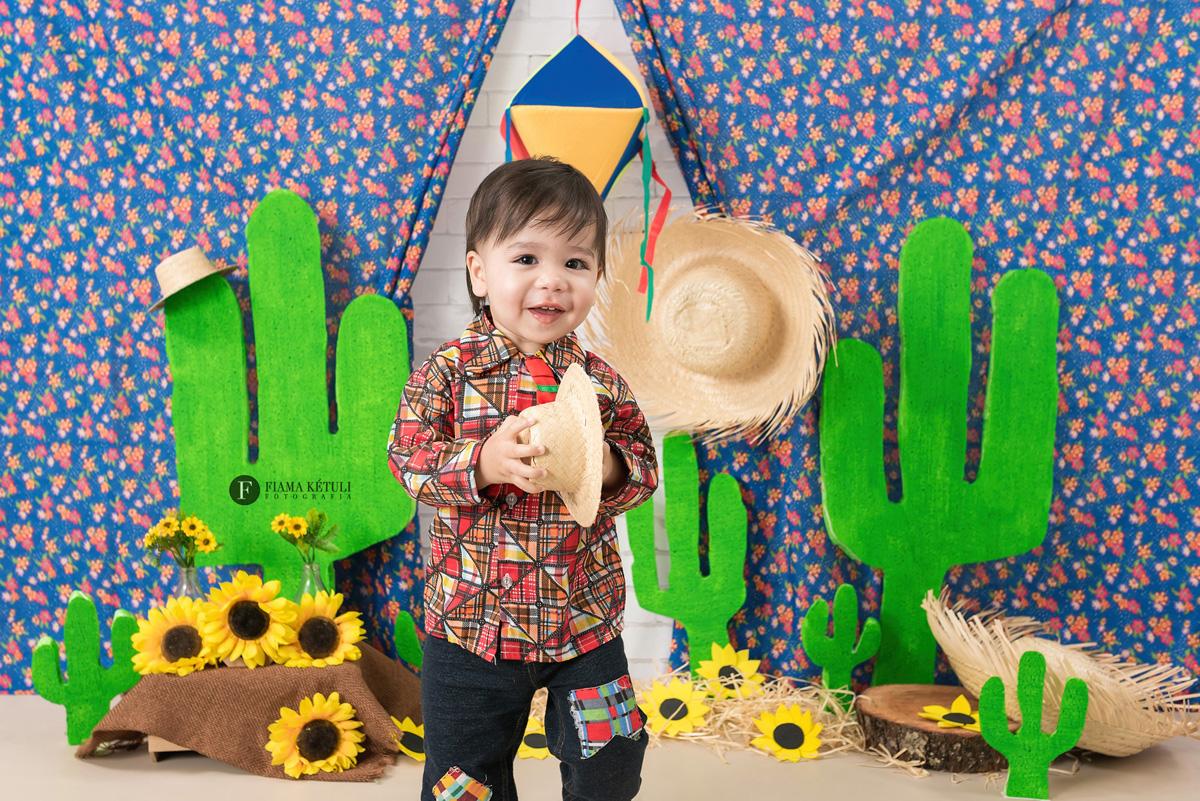 Ensaio Junino de bebê em Brasília