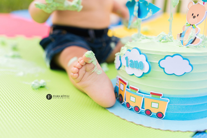 Smash the Cake em Brasília