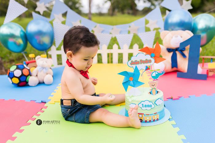 Ensaio pra bebê de 1 ano em Brasília