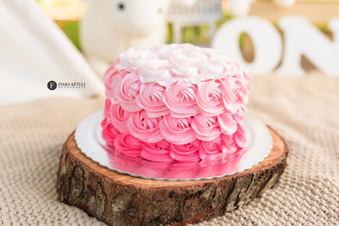 Bolo para Smash the cake Externo Ovelhinhas menina Brasília - Tema religioso para Smash the Cake