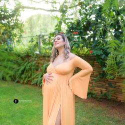 Ensaio de gestante com roupas para grávidas em Brasília