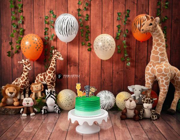 Smash the cake Safari