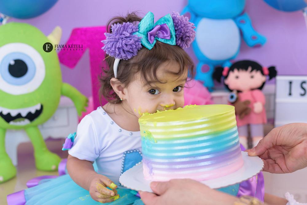 Smash the Cake Monstros Sa Menina Brasília
